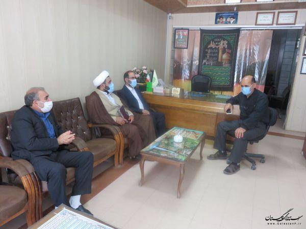 بازدید مدیر حج و زیارت استان از دفاتر زیارتی به مناسبت گرامیداشت هفته حج