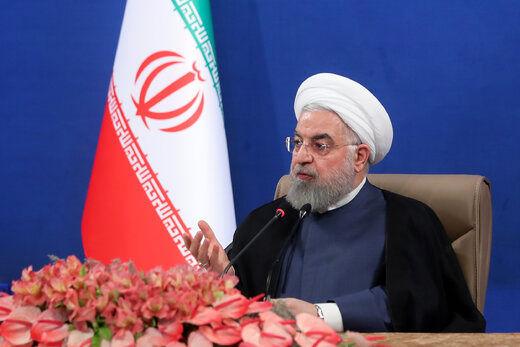 فیلم/ روحانی: در حال عبور از پیک کرونا هستیم