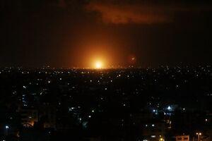 فیلم/ حمله وحشیانه صهیونیستها به غزه
