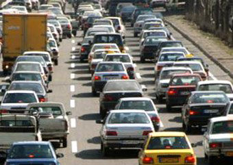 ترافیک سنگین در غری و شرق گلستان