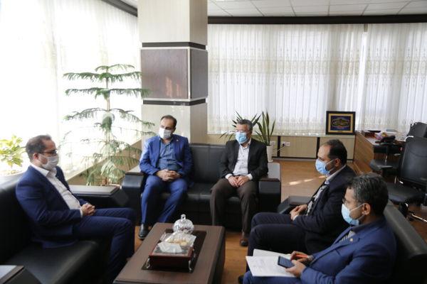 مدیرکل بهزیستی گلستان با مدیرعامل بانک رفاه استان دیدار و گفت وگو کرد