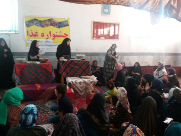 برگزاری جشنواره غذاهای سنتی مددجویان گلستانی