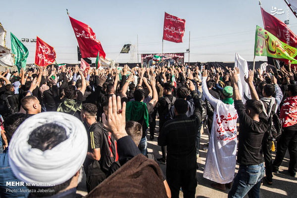 فیلم/ شور حسینی در مرز خسروی