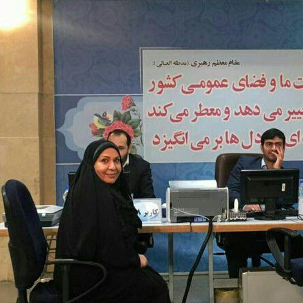 ثبت نام اولین داوطلب زن انتخابات ریاست جمهوری +عکس