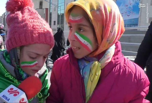 فیلم/ کودکانی از جنس انقلاب، هم خون سردار سلیمانی