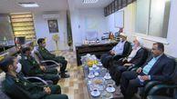 بازدید سرزده مقامات سازمان قضایی گلستان از یگان 60 زرهی عمار سپاه، یگانی که کمترین میزان جرائم در نیروهای مسلح استان را دارد