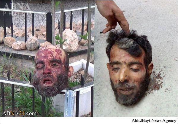 جنایت هولناک داعش پس از ورود به یرموک + عکس(۱۸+)