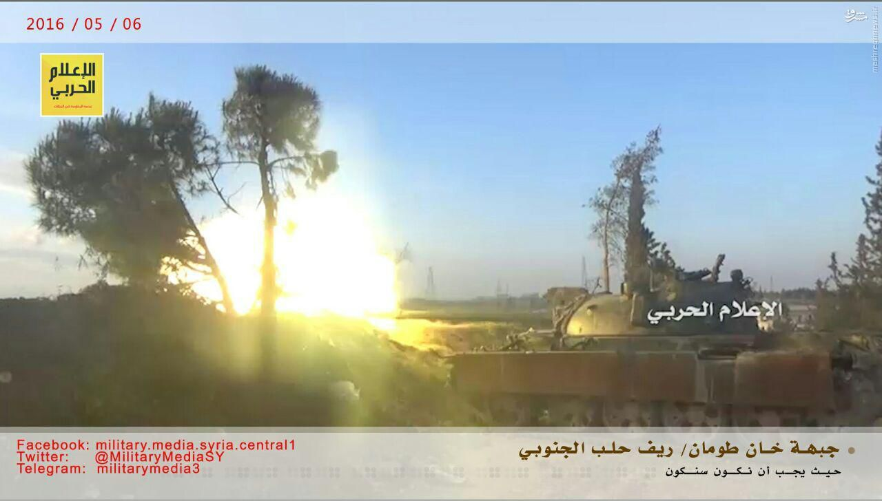 تصاویر درگیری در منطقه خان طومان