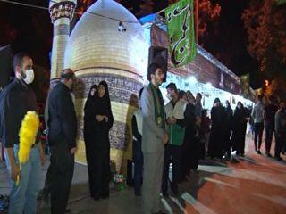 نمایشگاه رواق رضوی در گلستان برپا شد