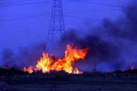 فیلم/ آتشسوزی در پتروشیمی ایلام