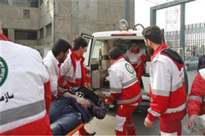 پوشش امدادی جمعیت هلال احمر گلستان به ۴۰ حادثه