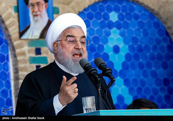 سخنرانی طنز/آقای روحانی؛ در هفته وحدت اتحادبین مسئولان را زیر پا گذاشتید