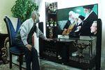 """حال و هوای """"آقا رجب"""" بعد از رسیدن به آرزویش +عکس"""
