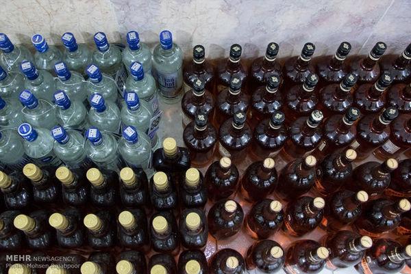 جزای نقدی ۹۰۰ میلیون تومانی برای قاچاقچی مشروبات الکلی در گلستان
