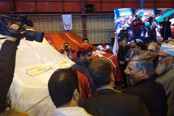 آیین رونمایی از ۳ خودروی جدید امداد و نجات در گرگان برگزار شد