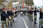دستهروی عزاداری نیروهای مسلح گلستان+ تصاویر
