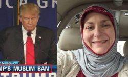 زنی که ترامپ باعث مسلمان شدنش شد+عکس