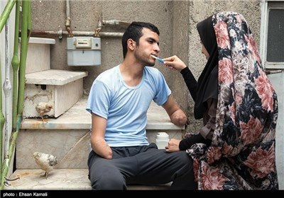 """فرصت اندک برای پیوند دستان """"داماد ۱۵روزه بجنوردی""""+ تصاویر"""