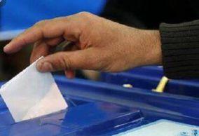 عکس/ حضور مداحان اهل بیت پای صندوق رای