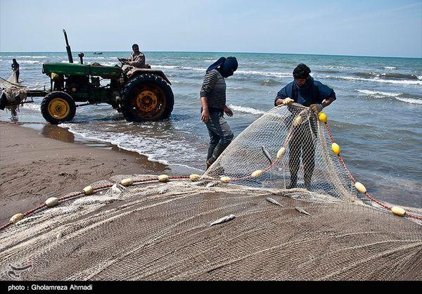 آغاز فصل صید ماهیان استخوانی در دریای خزر؛ ۱۴۲۰ صیاد گلستانی روانه دریا شدند