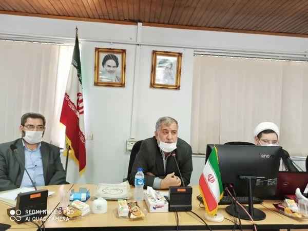 چهارمین جلسه شورای اقامه نماز سازمان جهاد کشاورزی استان گلستان برگزار شد