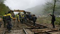 سیل باعث کاهش ۴۰ درصدی مسافر در راهآهن گلستان شد