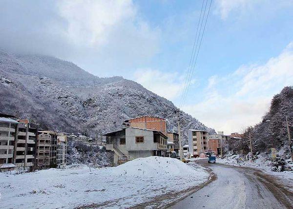 جاده روستای توریستی زیارت برای تردد باز است