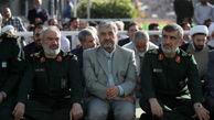 فرماندهان سپاه در نماز عید فطر + عکس