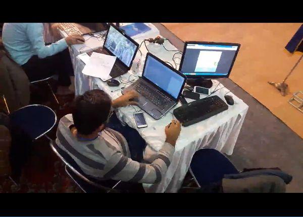 تلاش لحظه به لحظه متخصصین استان گلستان در آخرین ساعات گردهمایی کشوری فعالان فضای مجازی