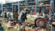 تصویری اسفناک از جنایت هولناک تروریستهای مسلح در حلب (18+)