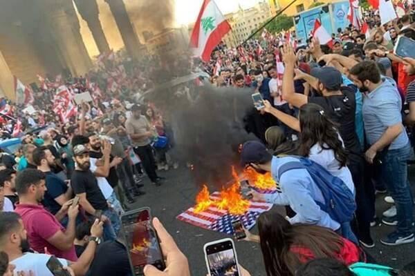 فیلم/ عامل اصلی ایجاد اعتراضات در لبنان