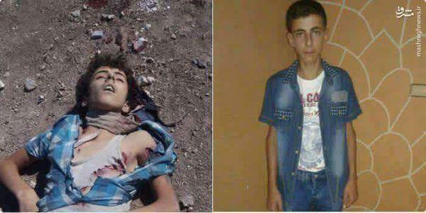 اعدام کودک 13 ساله توسط جندالاقصی+عکس