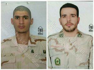 شهادت دو مرزبان در درگیری با اشرار + عکس