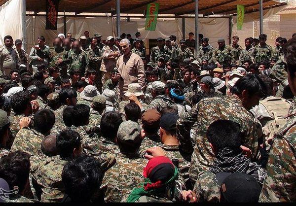 """بیانیه مهم """"لشکر فاطمیون"""" خطاب به سردار سلیمانی درباره پایان داعش"""