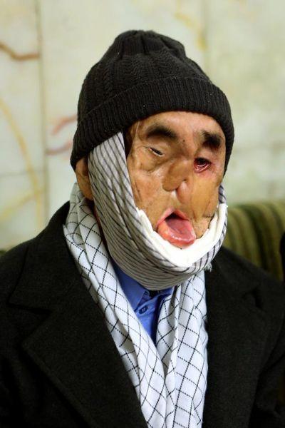 تصاویر دیدنی دیدار بابا رجب با رهبر انقلاب