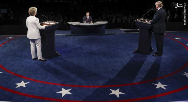 آخرین مناظره ریاستجمهوری آمریکا به روایت تصاویر