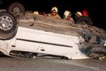 واژگونی خودروی سمند با ۵ سرنشین در «ترشکلی» گنبدکاووس