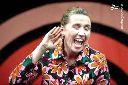 فیلم/ خندههای خانم نخست وزیر پشت تریبون!