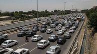 انسداد جاده هراز تا ساعت ۱۷ امروز/ثبت ۱۵۰هزار تردد در یک روز در آزادراه کرج-تهران