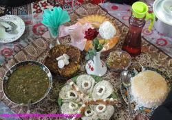 جشنواره بومی محلی غذای سالم در روستای النگ کردکوی+عکس