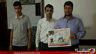 هیئت شهدای گمنام گالیکش به کمپین استقبال از 13 شهید غواص گلستان پیوستند