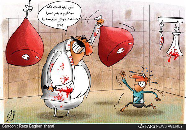 کاریکاتور/ قیمت گوشت ثابت می ماند