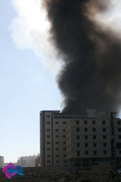 انفجار در نزدیکی حرم حضرت زینب(س) دمشق+عکس