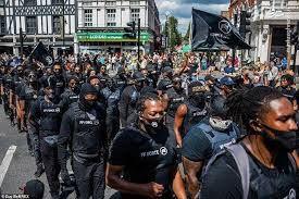 فیلم/ تظاهرات گسترده سیاپوستان در انگلیس