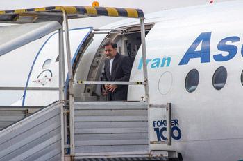وزیر راه و شهر سازی به استان گلستان وارد شد