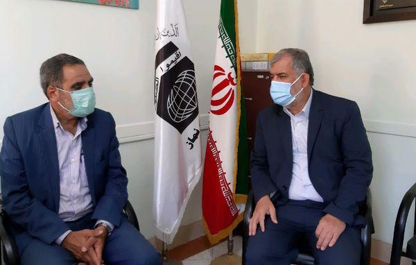 مدیرکل تعاون روستایی استان گلستان با مدیر ستاد اقامه نماز دیدار کرد