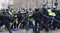 فیلم/ برخورد خشن پلیس با معترضان فرانسوی
