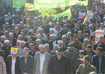 تصاویر/ راهپیمایی حماسی 22 بهمن در گمیشان