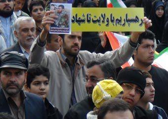 تصاویر / راهپیمایی با شکوه 22 بهمن مردم گرگان
