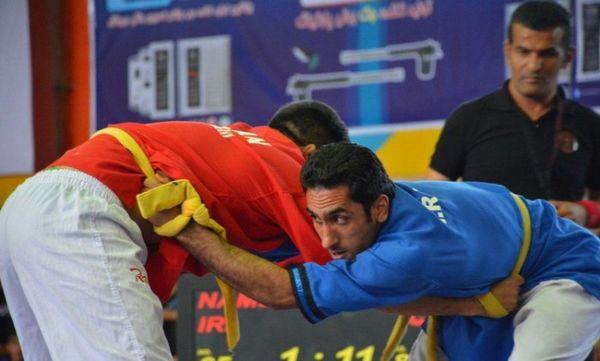تیم گلستان (الف) قهرمان کشتی آلیش بزرگسالان کشور شد